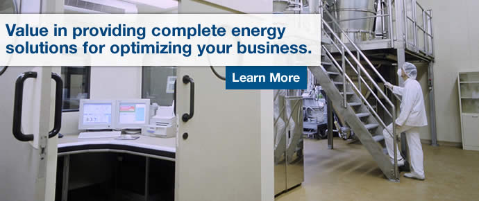 Value in providing complete energy solutions for optimizing your business