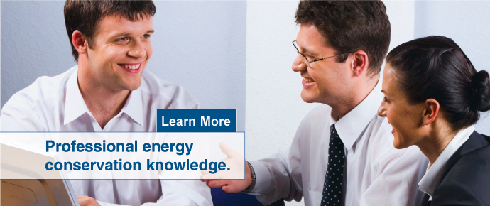 Professional Energy conservation knowledge